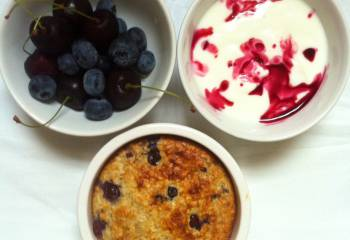 Baked Blueberry Oats