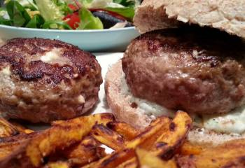 Sw Recipe: Greek Lamb Burgers